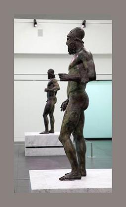 Riace Bronzes return to public, opened Museum Reggio
